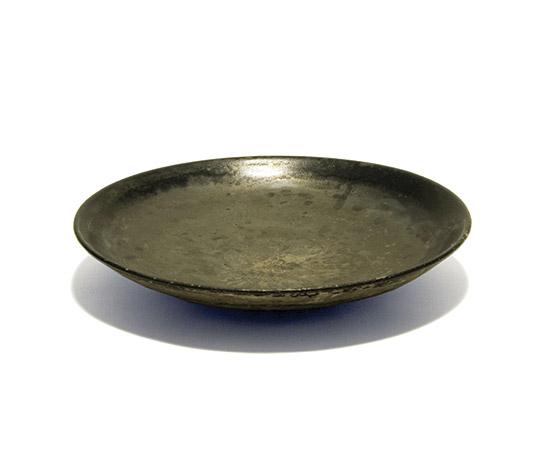Della Rocca-Black Murano glass plate