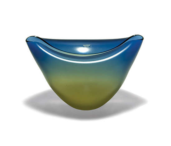 Blown Murano glass vase