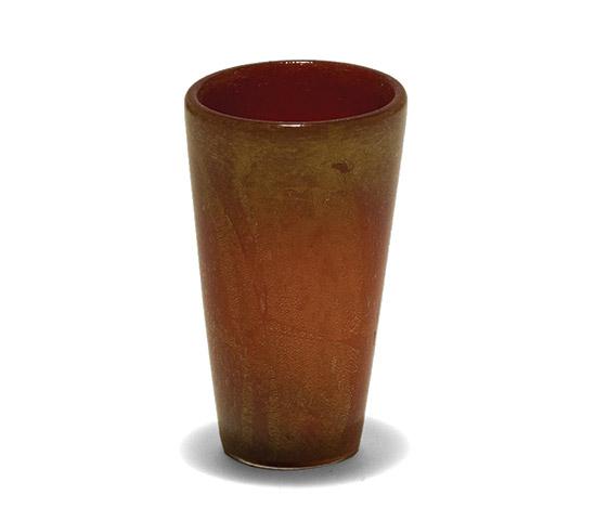 Della Rocca-Red Murano glass vase