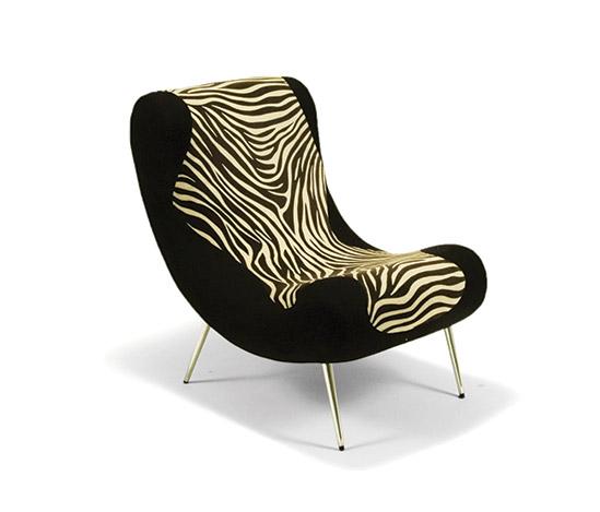 'Eulalia' uphholstered armchair de Della Rocca