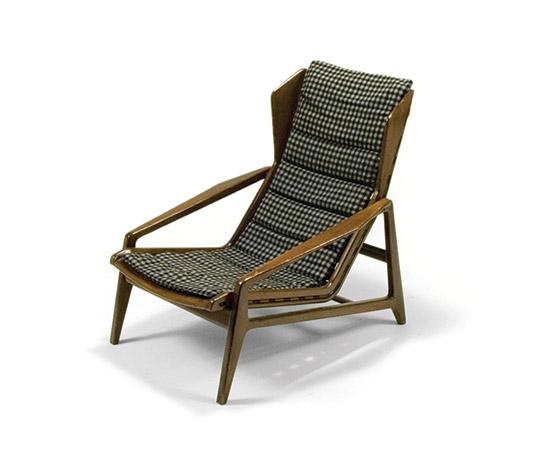 Nutwood armchair, mod. 811