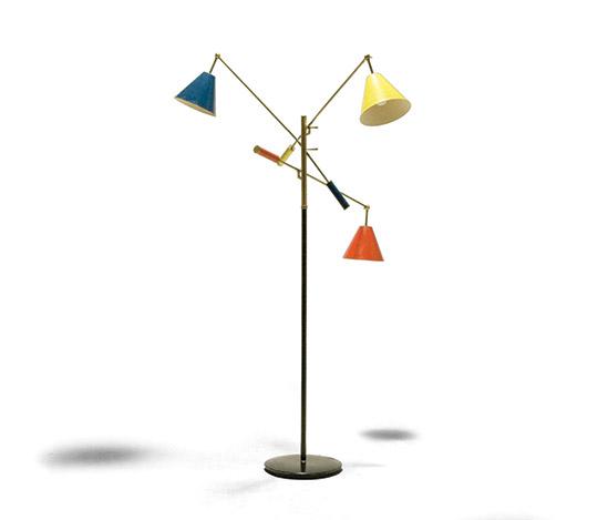 """""""Triennale"""" floor lamp, mod. 12128"""