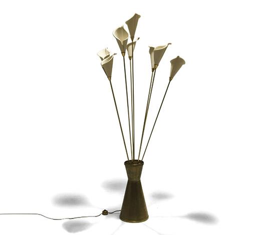 Della Rocca-'Calla' floor lamp