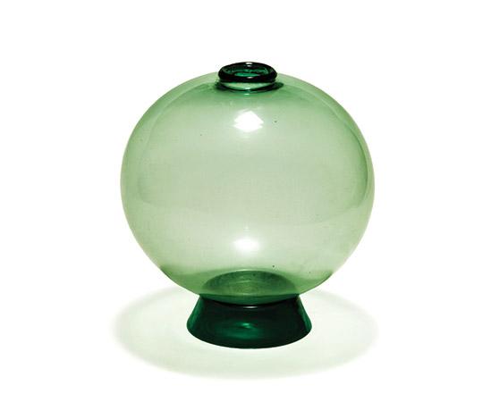 Della Rocca-'Trasparenti' Murano glass vase