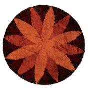 Circular Marguerite carpet