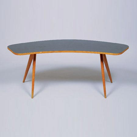 Organic sofa table