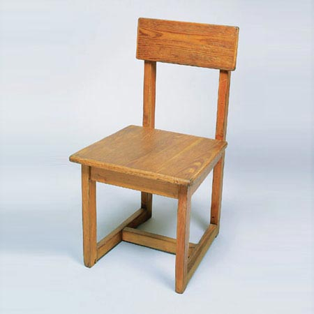 Stuhl auf Kufen
