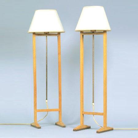 Model 2548 floor lamps