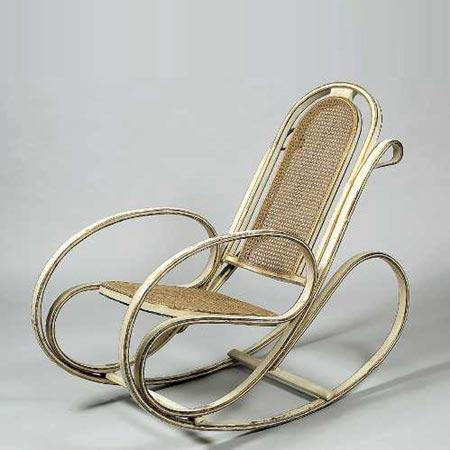 Dorotheum-Rocking chair No. 269
