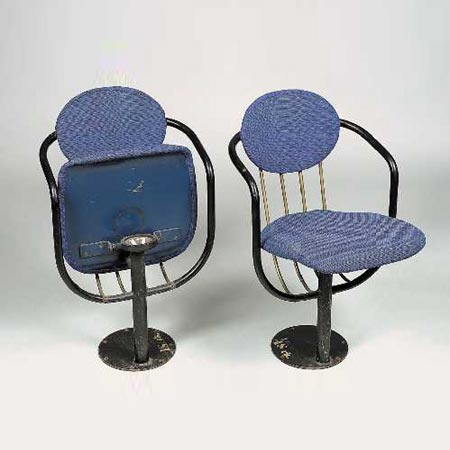 Theatre folding chairs