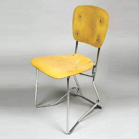 Folding chair by Dorotheum