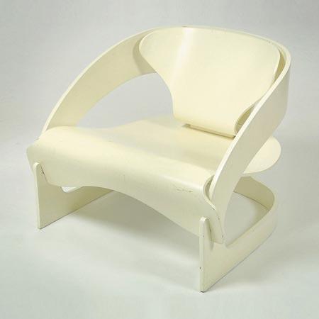 Armchair, Modell 4801