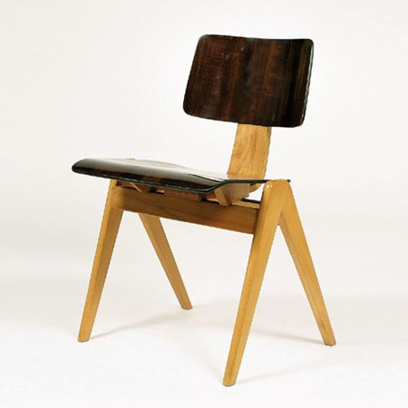 Dorotheum-HILLESTAK stacking chair