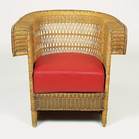 Wickerwork chairs