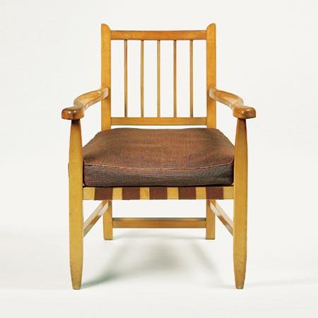 Stickback armchair