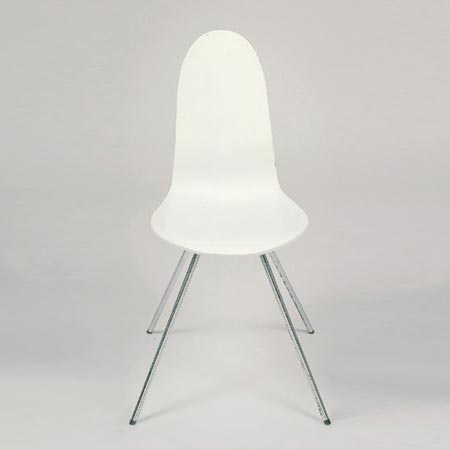 "Tongue (""Drop"") chair, Model 3102"