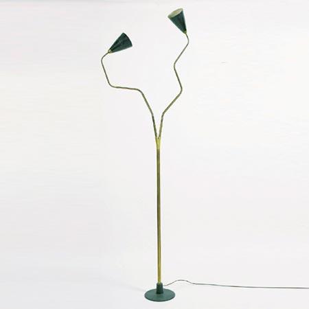 Tall standard lamp