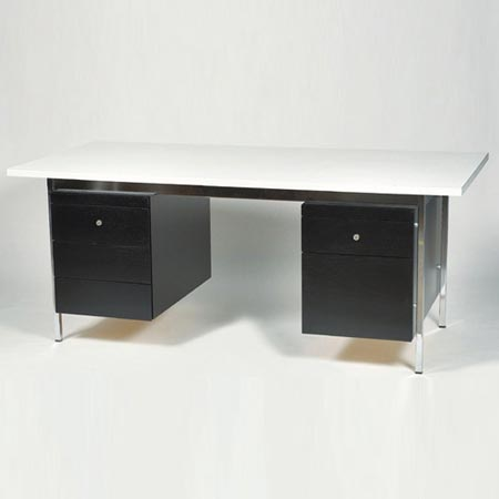 Double Pedestral Desk