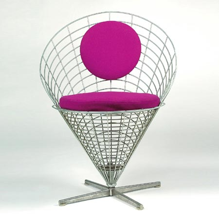 Wire Cone Chair