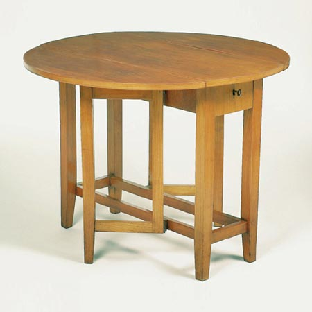 "Folding table ""Gateleg Table"""