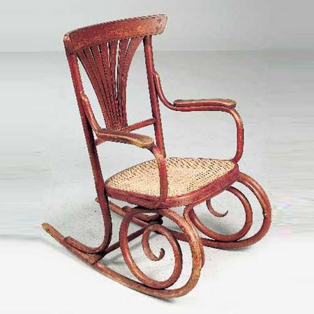 Dorotheum-Rocking chair no. 221