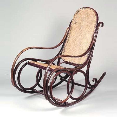Dorotheum-Rocking chair No. 4