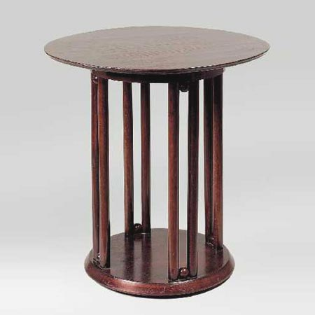 "Circular ""Fledermaus"" table"