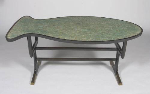 Fish-shaped table von Los Angeles Modern Auctions