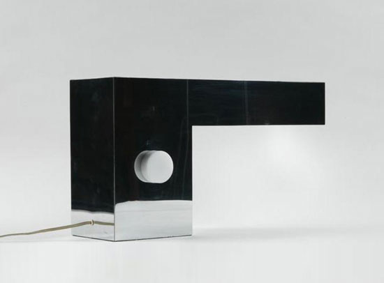 Table lamp, cantilevered