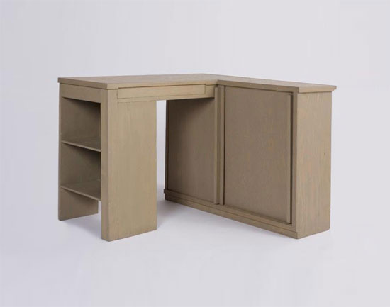 Corner built-in unit