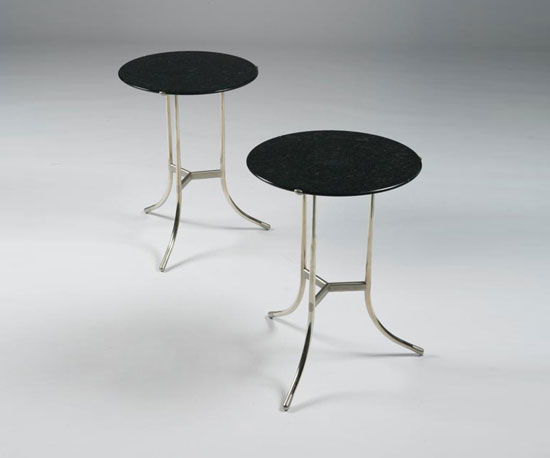 Occasional tables (model no. AE), pair
