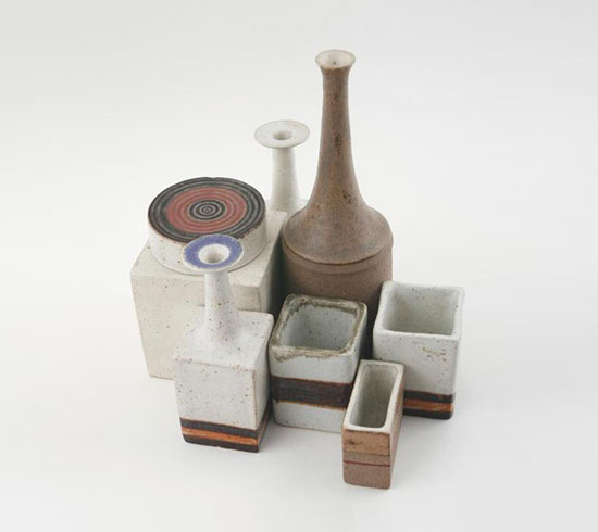 Ceramic vessels by Los Angeles Modern Auctions