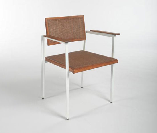 Los Angeles Modern Auctions-Armchair, Steel Frame series