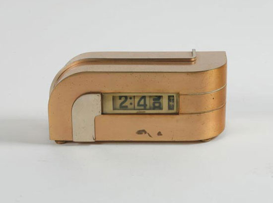 Zephyr desk clock, model no. 340-P40
