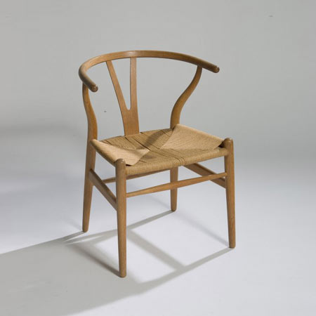 Wishbone chair, model no. 24