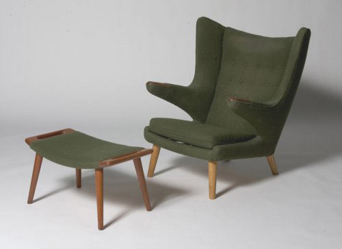 Los Angeles Modern Auctions-Papa chair/ottoman (model no. AP 19)