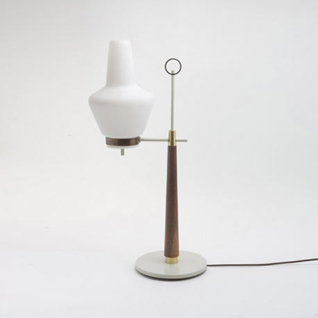 Table lamp by Los Angeles Modern Auctions