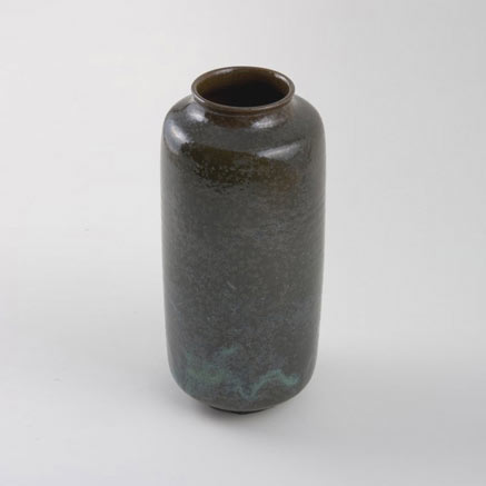 Large glazed ceramic vase
