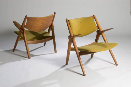 AX lounge chairs (model no. 28)