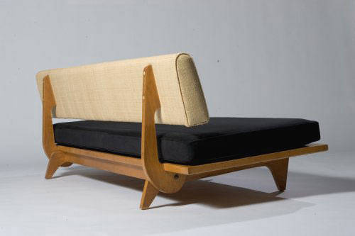 Convertible sofa bed for sale at Los Angeles Modern Auctions