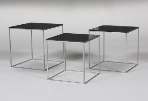 PK-71 end tables, set of three