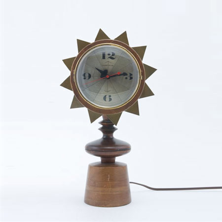 Desk clock by Los Angeles Modern Auctions