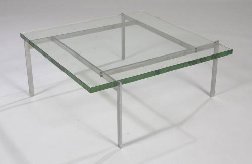 PK-61 glass coffee table