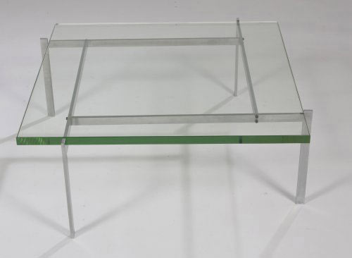 PK-61 glass coffee table by Los Angeles Modern Auctions