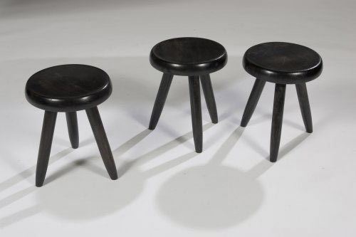 Stools, set of three