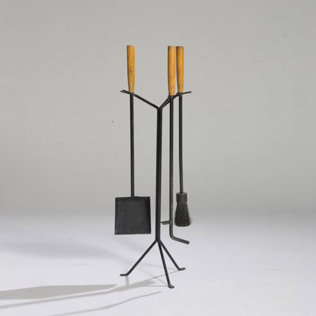 Fire tool set by Los Angeles Modern Auctions