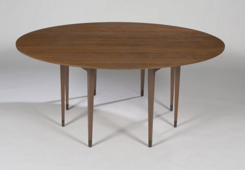 Los Angeles Modern Auctions-Drop leaf table, model 4913