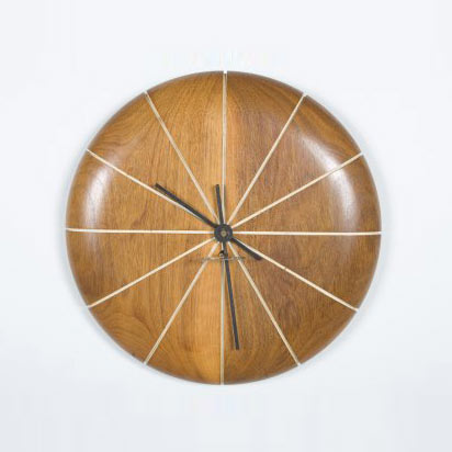 Wall clock by Los Angeles Modern Auctions