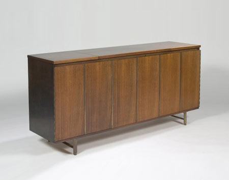 Music center cabinet by Los Angeles Modern Auctions