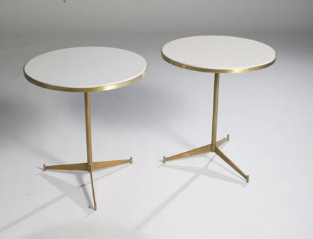 Cigarette tables, model no. 1094, pair